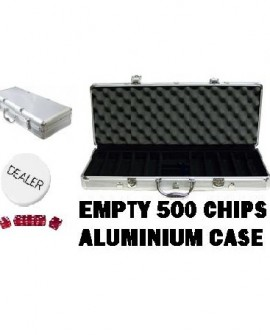 Empty 500 Aluminium Chip Case - SPECIAL SALE*
