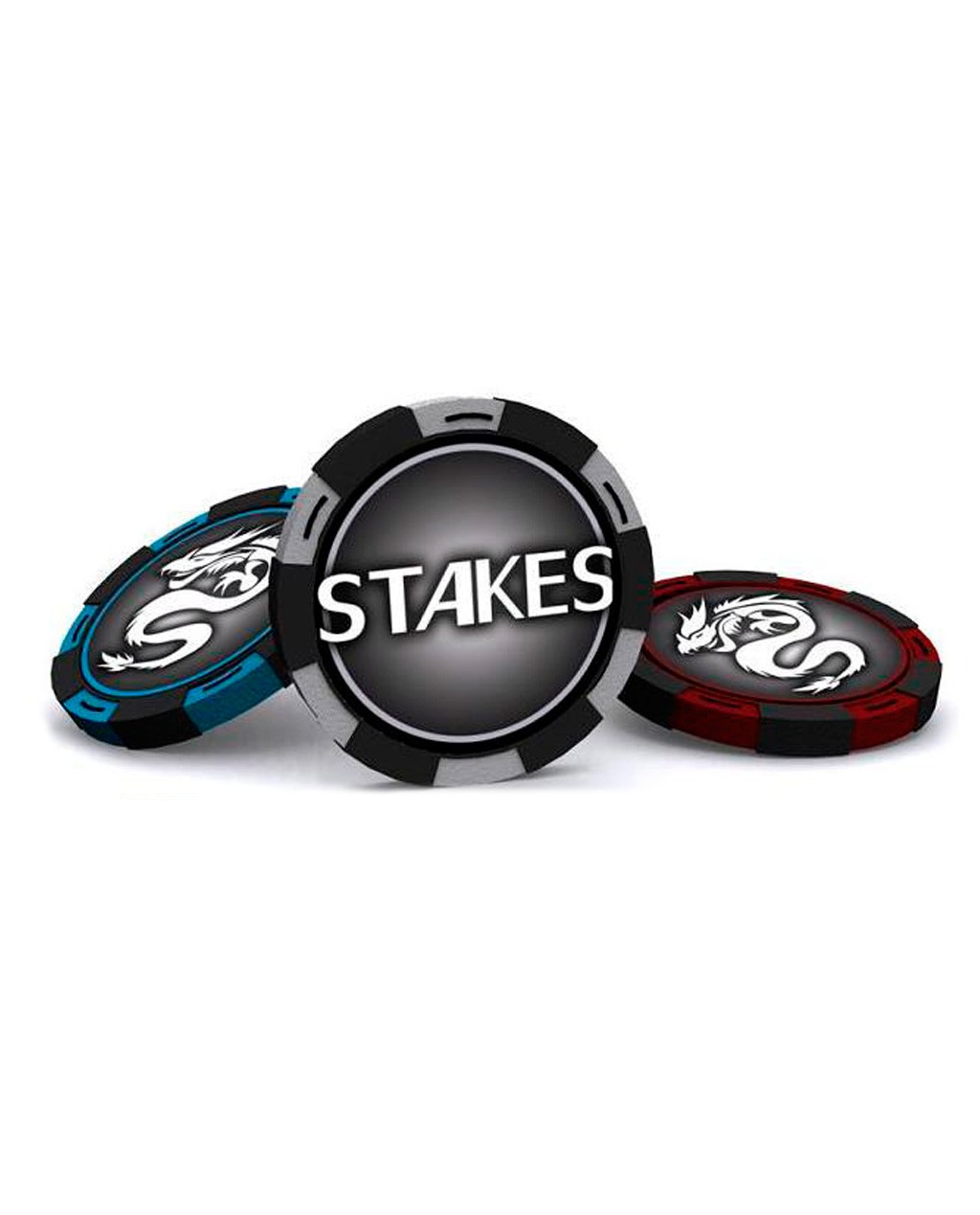 200Pcs STAKES CLAY Poker Chips Set